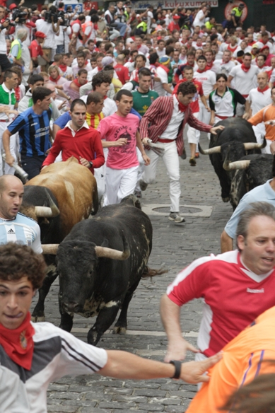 Running Of The Bulls Uniform Alexander Fiske-Harris...