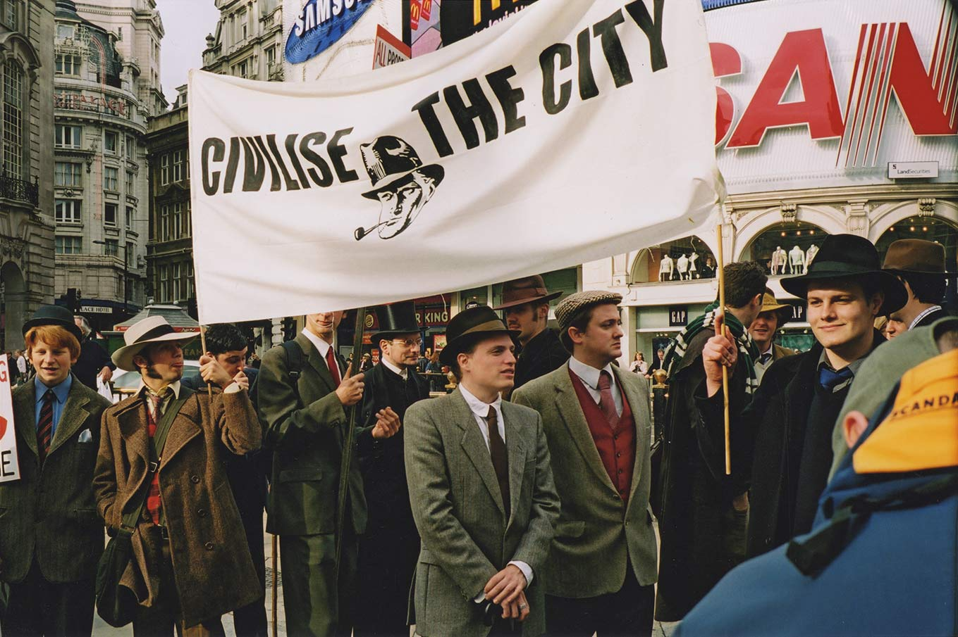 Civilise the City Chap Protest