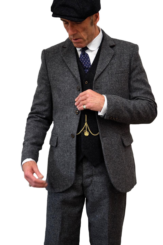 Thomas Grey Tweed Jacket